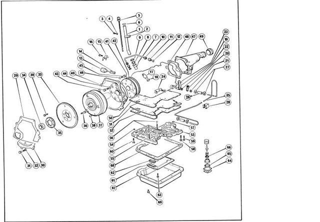 automatische versnellingsbak Ford C3