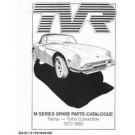 TVR M - series onderdelenlijst